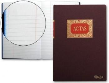 LIBRO ACTAS MIQUELRIUS 100 HOJAS COD. 4594