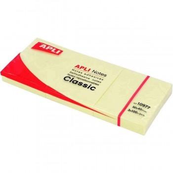PACK 3 TACOS NOTAS ADHESIVAS 40X50 APLI RF 10977
