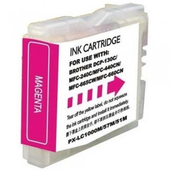 CARTUCHO COMPATIBLE BROTHER LC-1000 M / LC-970 M