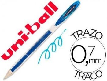 BOLIGRAFO UNI-BALL ROLLER UM-120 SIGNO 0,7 MM TINTA GEL COLOR AZUL CLARO COD 75323